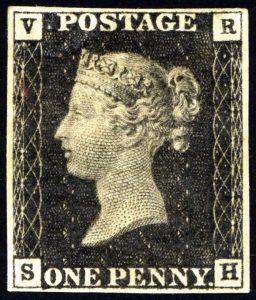 black penny timbre rare philatelie investissement